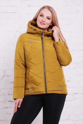 куртка Линда-Б. Цвет: хаки