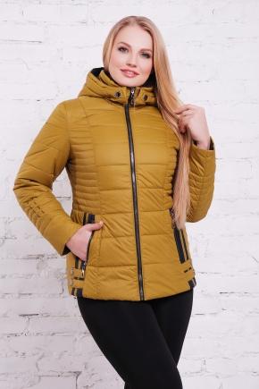 куртка Ника-Б. Цвет: горчица