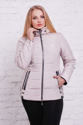куртка Ника-Б. Цвет: бежевый