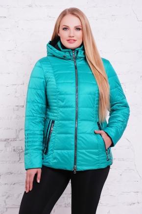 куртка Ника-Б. Цвет: бирюза