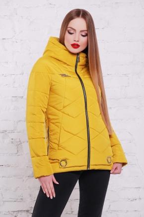 куртка Линда. Цвет: желтый