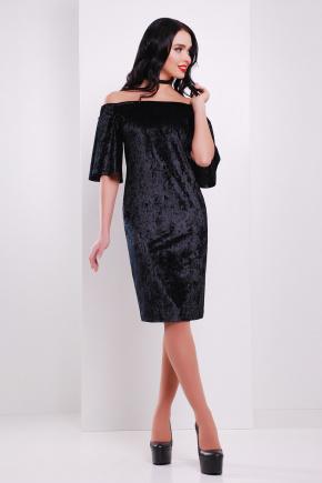 платье Мальфа к/р. Цвет: черный