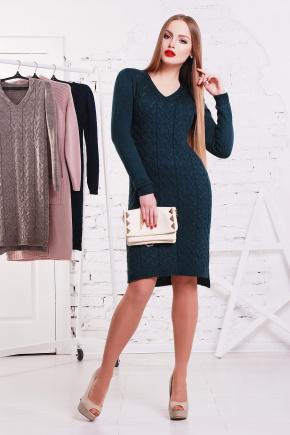 Платье 3045. Цвет: бутылочный