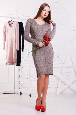 Платье 3045. Цвет: капучино