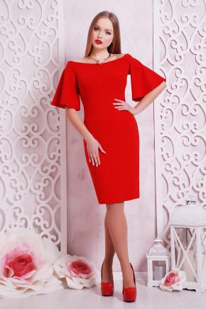 платье Мальфа2 к/р. Цвет: красный