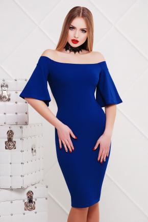 платье Мальфа2 к/р. Цвет: электрик