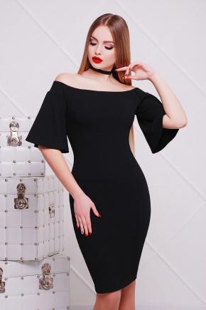 платье Мальфа2 к/р. Цвет: черный