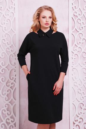 платье Элина-Б д/р. Цвет: черный
