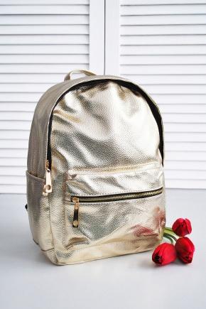 Рюкзак 6007. Цвет: золото