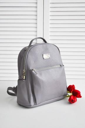 Рюкзак 968-1. Цвет: серый