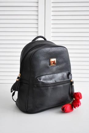 Рюкзак 8640. Цвет: черный