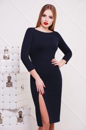 платье Лучера д/р. Цвет: темно синий