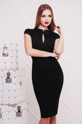 платье Цезара б/р. Цвет: черный