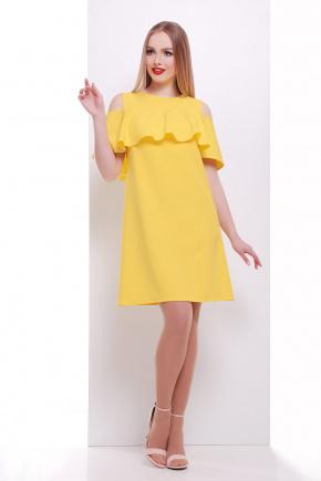платье Ольбия б/р. Цвет: желтый
