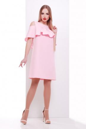 платье Ольбия б/р. Цвет: розовый