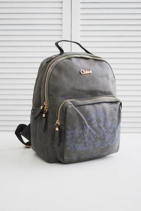 Рюкзак Chloe. Цвет: серый