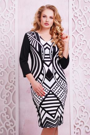 Имитация платье Калоя-2Б К д/р. Цвет: принт