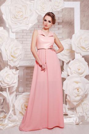 платье Финикс б/р. Цвет: персик