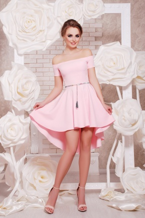платье Карина к/р. Цвет: розовый
