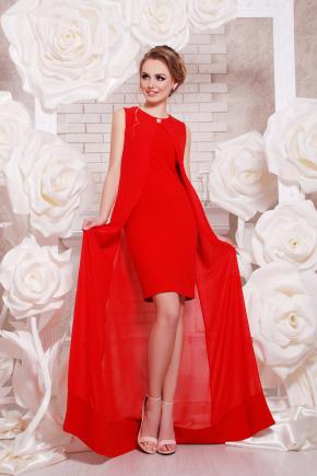 платье Ясмина б/р. Цвет: красный