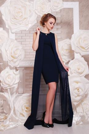 платье Ясмина б/р. Цвет: темно синий
