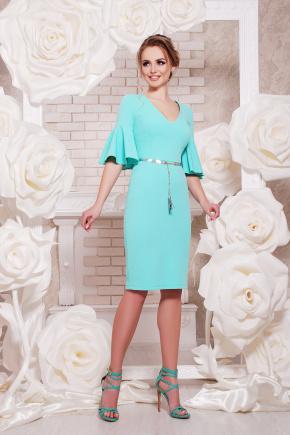 платье Линда к/р. Цвет: мята