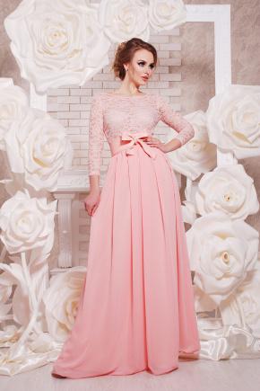 платье Марианна д/р. Цвет: персик