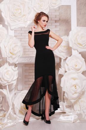 платье Ингрид б/р. Цвет: черный