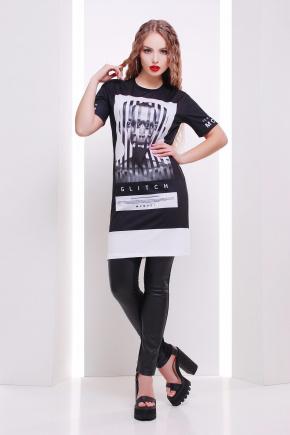 Clitch футболка Long-3. Цвет: принт