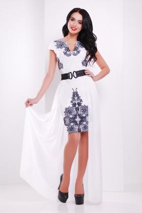 Кружево платье Аркадия-КД б/р. Цвет: принт