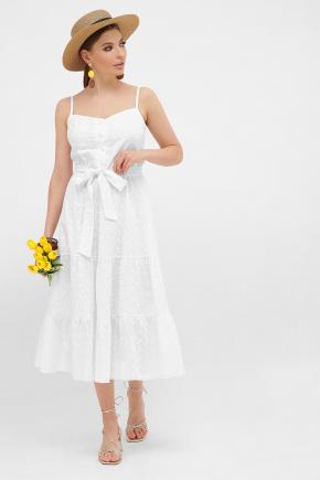 Сарафан Алиада. Цвет: белый