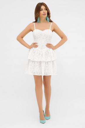 Сарафан Леонтия 1. Цвет: белый