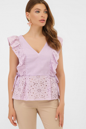 Блуза Илари б/р. Цвет: лавандовый