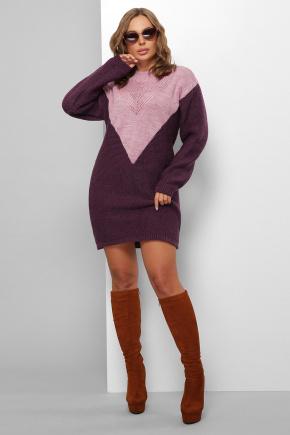 Платье 181. Цвет: сирень-фиолетовый