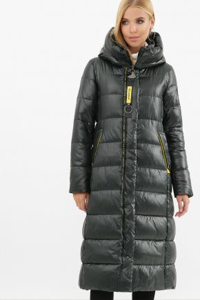 Куртка 2128. Цвет: 03-изумруд-желтый