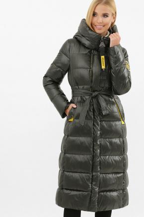 Куртка 2128. Цвет: 13-серо-зеленый-желт