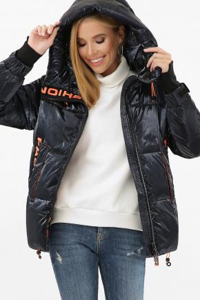 Куртка 8100. Цвет: 02-т.синий-оранжевый