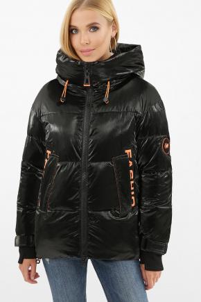 Куртка 8100. Цвет: 01-черный-оранжевый
