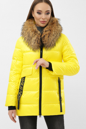 Куртка 8003. Цвет: 06-желтый