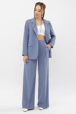 Пиджак Сабера д/р. Цвет: джинс