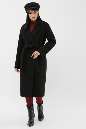Пальто MS-279-D. Цвет: 0161L-черный