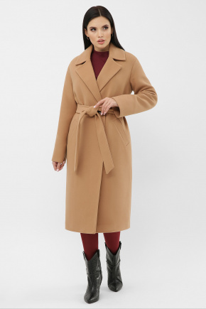 Пальто MS-279-D. Цвет: 0239L-т.бежевый