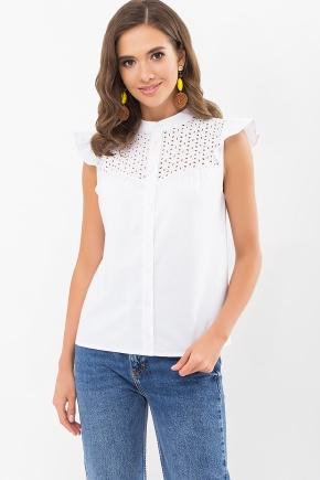 Блуза Млада б/р. Цвет: белый