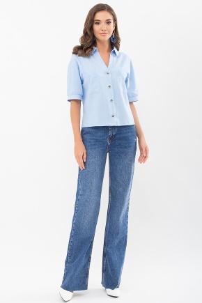 Блуза Илюза к/р. Цвет: голубой