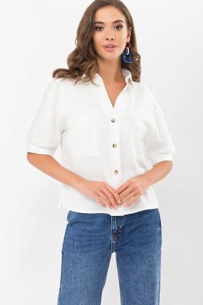 Блуза Илюза к/р. Цвет: молоко