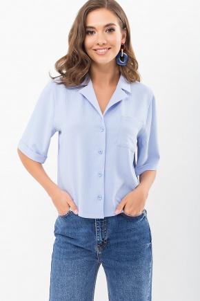 Блуза Шелви к/р. Цвет: голубой