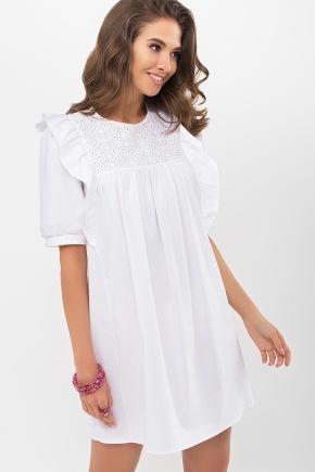 Платье Зарема к/р. Цвет: белый
