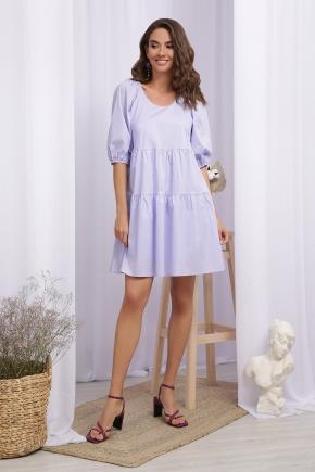 Платье Кати-1 к/р. Цвет: лавандовый