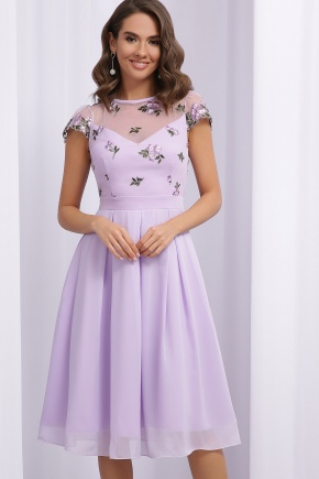 Платье Айседора б/р. Цвет: лавандовый 1