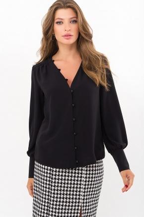 Блуза Ирэн д/р. Цвет: черный